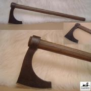 Large Bearded Viking Axe - Antique Finish